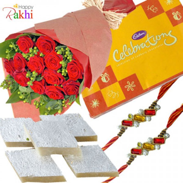 Rakhi Kaju Katli Celebration