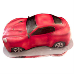 Car Shape Cake