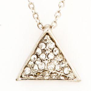 Pyramid Diamond Pendant