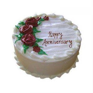 1Kg Anniversary Butterscotch Cake