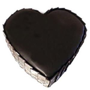 1Kg Dark Chocolate Heart Shape Cake