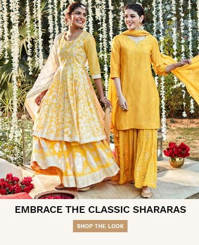 Yellow Shararas