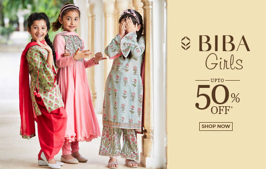 biba.in - Up to 50% off on all products