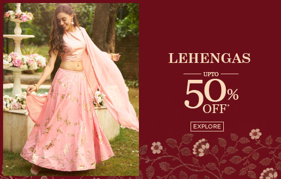 biba.in - Get Upto 50% Off on Lehengas