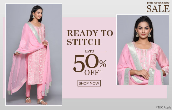 biba.in - Up To 50% OFF on Easy Stitch Suit sets