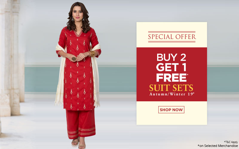 Buy 2 get 1 - Suit Sets