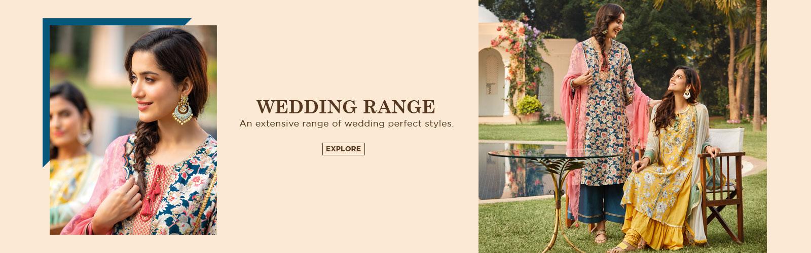 Wedding Range