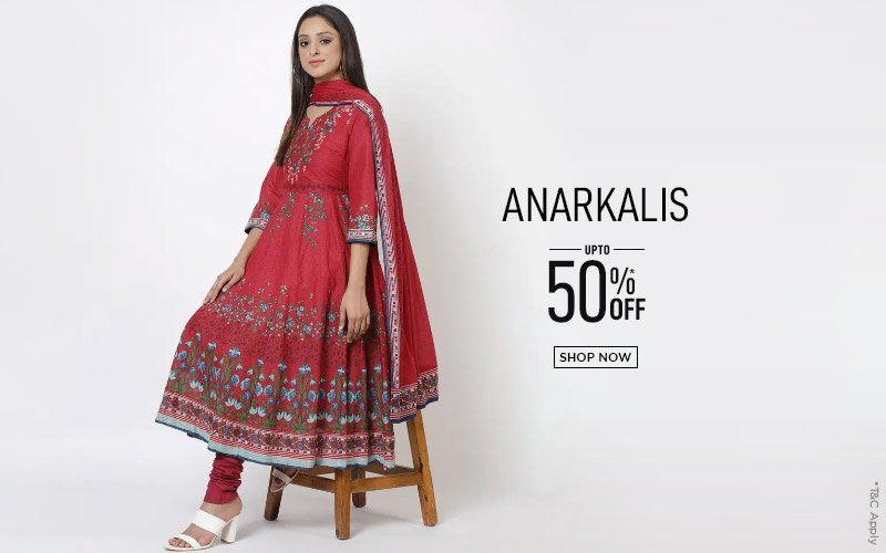 Anarkalis - Upto 50% Off