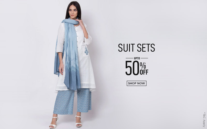 Suit Sets - Upto 50% Off