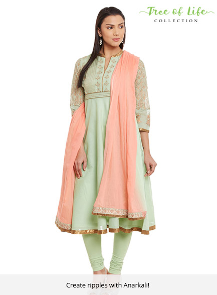 Tree Of Life Anarkali