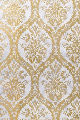 Varak gold and silver leaf printing