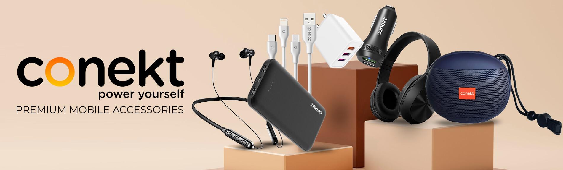 Conekt premium mobile accessories