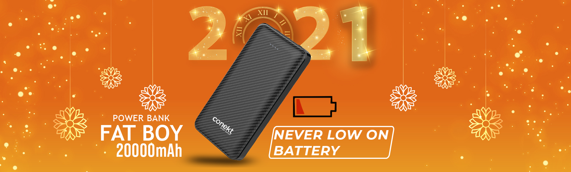 Zeal Fatboy 20000mAh 2.4A Fast Charging Power Bank