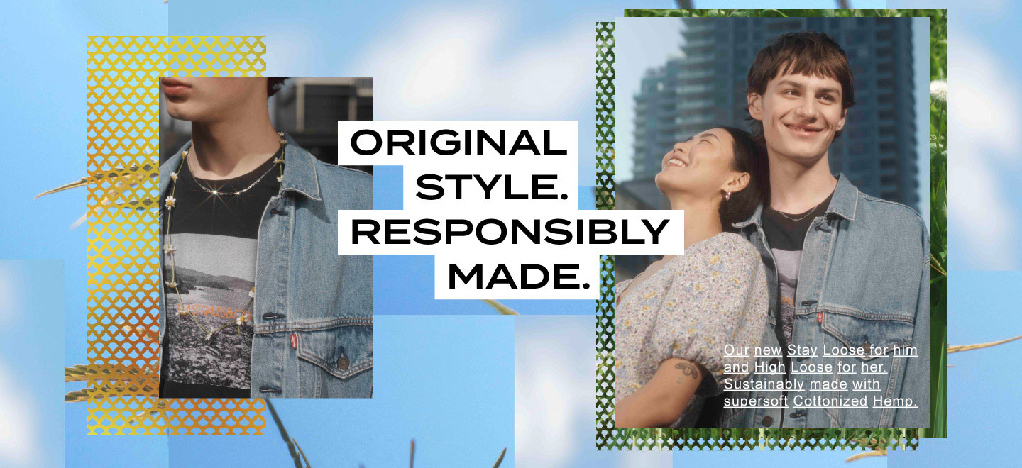levis hong kong loose fit stay loose sustainability