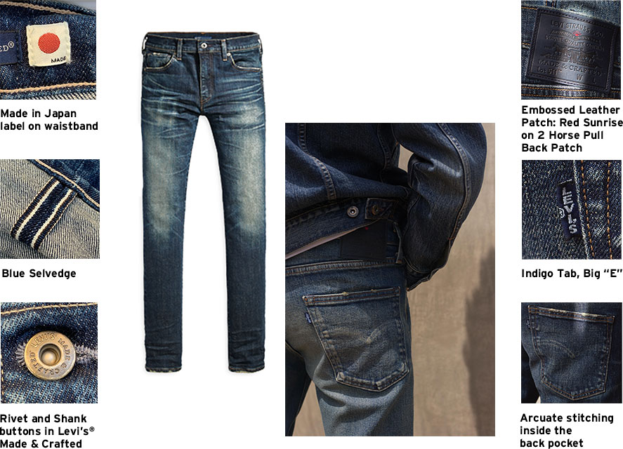levis hong kong made in japan mij collection key feature