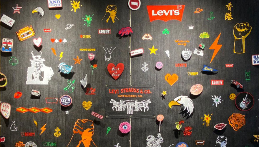levis hong kong tailor shop - in store