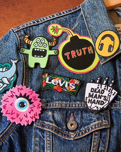 levis hong kong tailor shop - patches