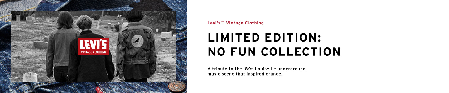 levis hong kong - limited edition no fun collection levis vintage clothing