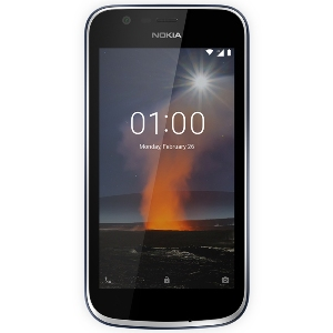 Smart Phones, Mobile Phones, Nokia, Nokia 1 , Up to 15 days , Up to 9 hours , 133.6 x 67.78 x 9.5mm , 131g (including battery) , 2 MP , HD Video Recording , 5 MP with LED flash , Bluetooth® 4.2, GPS/AGPS + , 802.11 b/g/n , Yes , Micro USB 2.0 , Yes , FWVGA IPS display, 5 fingers touch-screen , Yes , 4.5