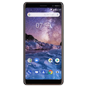 Smart Phones, Mobile Phones, Nokia, Nokia 7 Plus , Up to 723 h (3G) , Up to 19 h (3G) , 158.4 x 75.6 x 8 mm , 183 g , 16 MP (f/2.0, 1.0µm), Carl Zeiss optics, 1080p , 2160p@30fps, 1080p@30fps , Geo-tagging, touch focus, face detection, panorama, HDR , Dual: 12 MP (f/1.75, 1.4µm) + 12 MP (f/2.6, 1.0µm), gyro EIS, dual pixel phase detection autofocus, 2x optical zoom, Carl Zeiss optics, dual-LED dual-tone flash , 5.0, A2DP, LE , Wi-Fi 802.11 a/b/g/n/ac, dual-band, WiFi Direct, hotspot , HSPA 42.2/5.76 Mbps, LTE-A (2CA) Cat6 300/50 Mbps , Yes , 2.0, Type-C 1.0 reversible connector, USB On-The-Go , Yes , Front glass, aluminum body (6000 series) with copper edges | IPS LCD capacitive touchscreen , Yes , 6