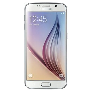 Smart Phones, Mobile Phones, Samsung, Samsung Galaxy S6 (White) , 143.4 x 70.5 x 6.8 mm , 138 grams , Yes,5 MP , Yes, 4k @ 30 FPS, Full HD @ 60 FPS, HD @ 120 FPS , Quick Launch, Tracking AF, Auto Real-time HDR(Front & Rear) , F1.9, Low Light Video(Front & Rear), High Clear Zoom, IR Detect White Balance, Virtual Shot, Slow Motion, Fast Motion, Pro Mode, Selective Focus , Yes, 16MP , Yes,v4.1, A2DP, aptX, BLE , Wi-Fi 802.11, a/ac/b/g/n/n 5GHz, Mobile Hotspot, Wi-Fi Direct , HSPA 42.2/5.76 Mbps, LTE Cat4 150/50 Mbps , Yes , Yes, microUSB 2.0 , Yes , Super AMOLED , Yes , 5.1 inches ,  , Quad-core 1.5 GHz Cortex-A53 & Quad-core 2.1 GHz Cortex-A57 ,  ,  ,  , Android v5.0 (Lollipop) , Accelerometer, Proximity sensor, Ambient light sensor , SMS(threaded view), MMS, Email, Push Mail, IM , HTML5 , FM radio , Yes ,  ,  , LTE 800 / 850 / 900 / 1800 / 1900 / 2100 / 2600 MHz , HSDPA 850 / 900 / 1900 / 2100 MHz , Nano SIM , GSM 850 / 900 / 1800 / 1900 MHz , S6 , 32GB ,  , Yes , Yes, Loudspeaker Available , Vibration; MP3, WAV ringtones