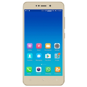 Smart Phones, Mobile Phones, Gionee, Gionee X1 - Gold , 144.3 x 72.2 x 8.8 mm  , 8 MP, f/2.0, 1/4