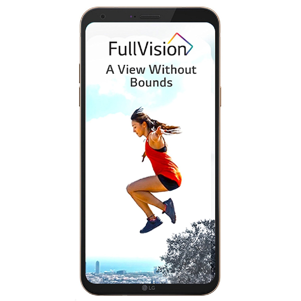 Smart Phones, Mobile Phones, LG, LG Q6 - GOLD , 142.5 x 69.3 x 8.1 mm  , 149g , 13MP CMOS AF  , 30fps@1080P , Auto Image Size 1:1 / 16:9 / 4:3 Timer Off, 3 secs, 5 secs, 10 secs Swap camera Front / Rear Camera Flash Auto, Off, On Digital Zoom Yes (4X)  , 5MP Wide Angle (100˚)Front Camera  , 4.2, A2DP, EDR, LE , Wi-Fi 802.11 b/g/n  , HSPA, LTE Cat4 150/50 Mbps , Yes , V2.0 HS , Yes , FullHD+ IPS | In Cell Touch | 18:9 Display , Yes , 5.5
