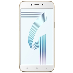 Smart Phones, Mobile Phones, OPPO, Oppo A71   Gold , 148.1 x 73.8 x 7.6 mm , 137 g , 5 MP, f/2.4 , 1080p@30fps , Geo-tagging, touch focus, face detection, HDR, panorama , 13 MP, f/2.2, phase detection autofocus, LED flash , 4.0, A2DP , Wi-Fi 802.11 b/g/n, hotspot , HSPA 42.2/5.76 Mbps, LTE Cat4 150/50 Mbps , Yes , microUSB 2.0, USB On-The-Go , Yes , HD TFT IPS Display , Yes , 5.2
