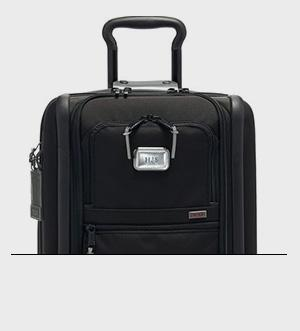Monogrammable Luggage