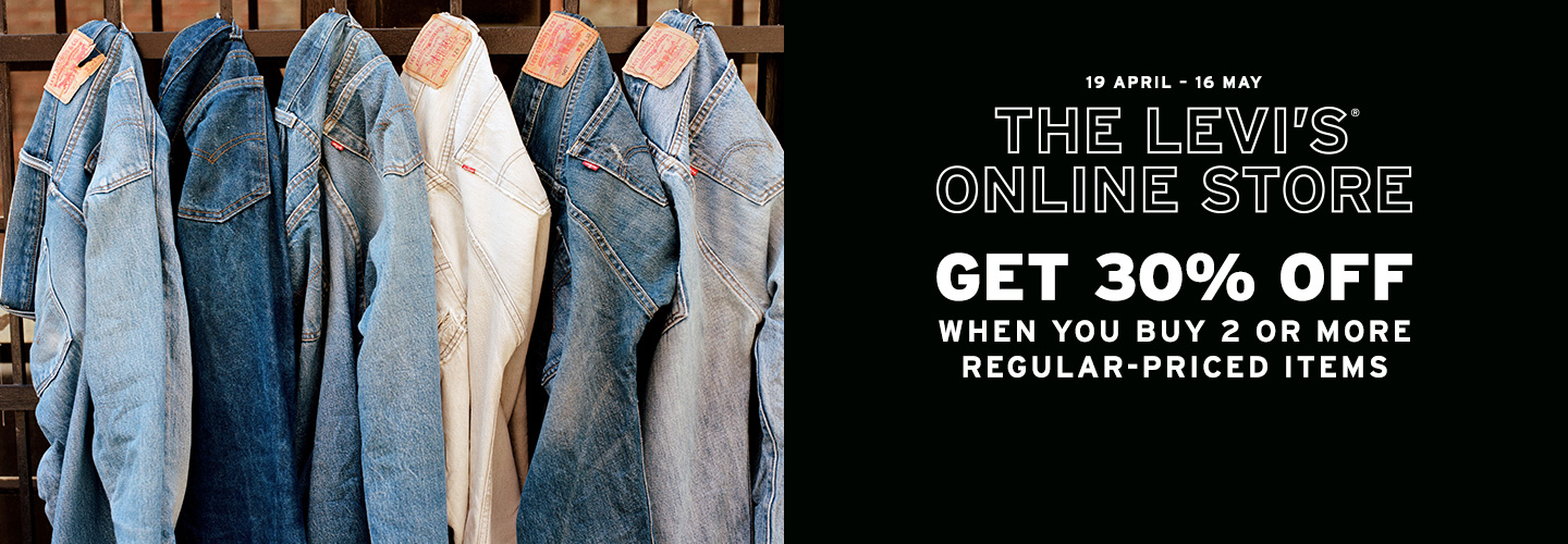 levis singapore regular price promo