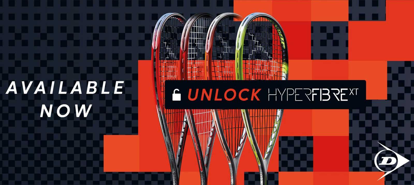Dunlop Hyperfibre XT Series