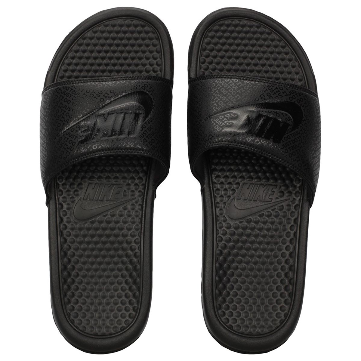 Nike Benassi JDI Flip Flops (Black