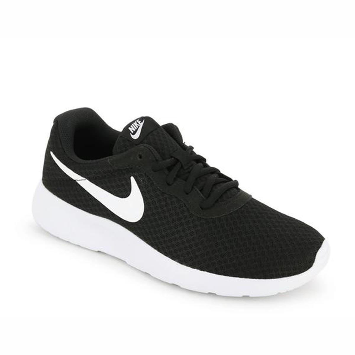 Nike Tanjun Running Shoes (Black/White