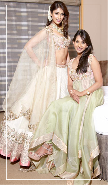 Ileana Dcruz in Anushree Reddy Lehenga