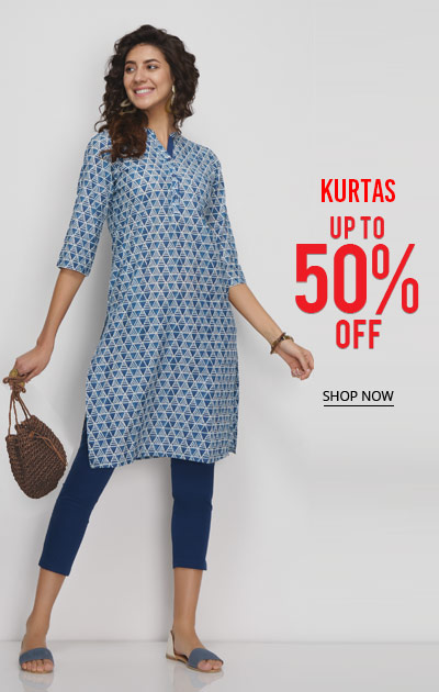 Kurtas Up to 50 Off