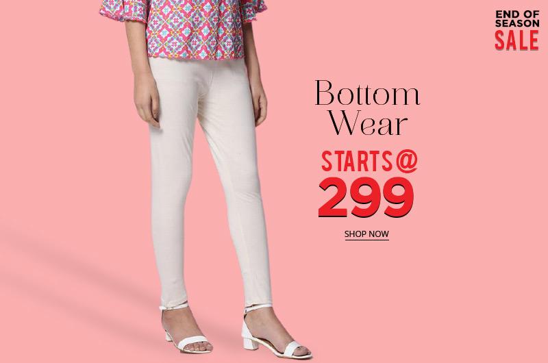 Bottom wear Starts @ 299
