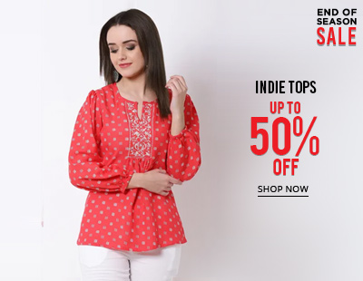 Indie Tops Up to 50 Off
