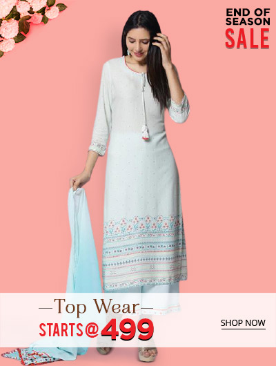 Top wear Starts @ 499