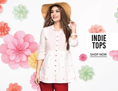 Indie Tops - upto 50% off