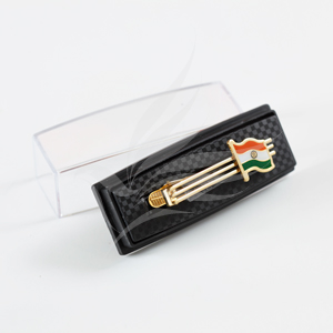 Flag Accessories, The Flag Corp, Indian National Flag Gold-Plated Tie Pin