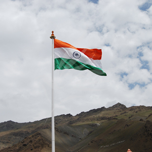 Giant Flags, EndureTex, Giant Indian National Flag - 20ft x 30ft