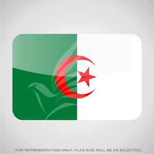 Outdoor Flags, Penguin Super Silk, Algeria National Flag - Various Sizes