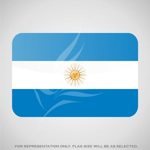 Outdoor Flags, Penguin Super Silk, Argentina National Flag - Various Sizes