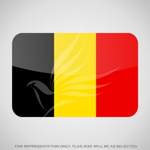 Outdoor Flags, Penguin Super Silk, Belgium National Flag - Various Sizes