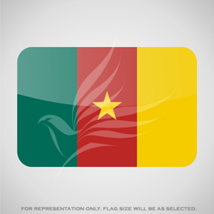 Outdoor Flags, Penguin Super Silk, Cameroon National Flag - Various Sizes