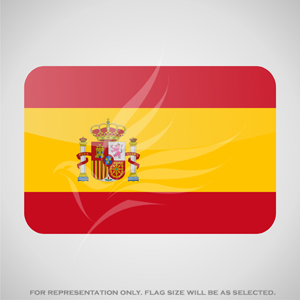 Outdoor Flags, Penguin Super Silk, Spain National Flag - Various Sizes