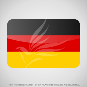 Outdoor Flags, Penguin Super Silk, Germany National Flag - Various Sizes