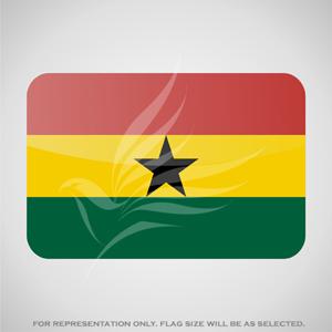 Outdoor Flags, Penguin Super Silk, Ghana National Flag - Various Sizes