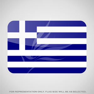 Outdoor Flags, Penguin Super Silk, Greece National Flag - Various Sizes