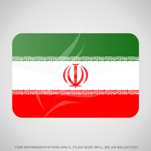Outdoor Flags, Penguin Super Silk, Iran National Flag - Various Sizes